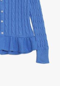 Polo Ralph Lauren - PEPLUM - Kardigan - harbor island blue - 3