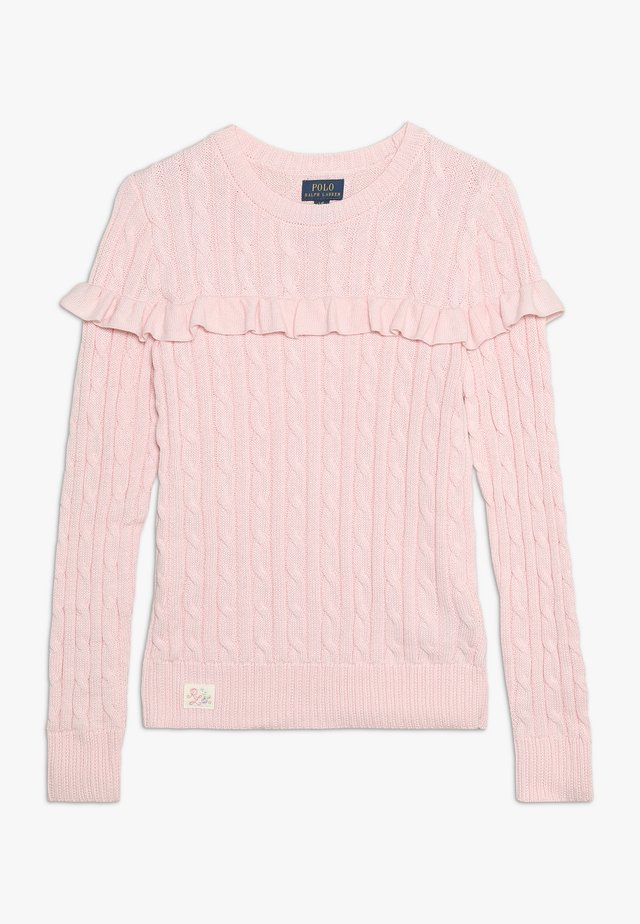CABLE - Maglione - hint of pink