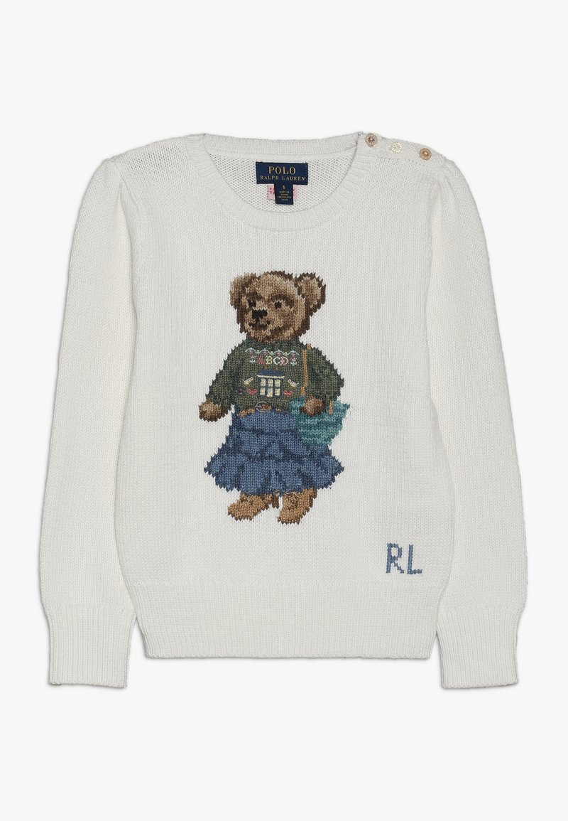 Polo Ralph Lauren - BOHEM BEAR - Jumper - trophy cream