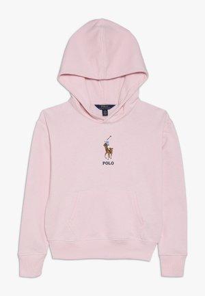Mikina skapucí - hint of pink