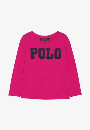Long sleeved top - sport pink