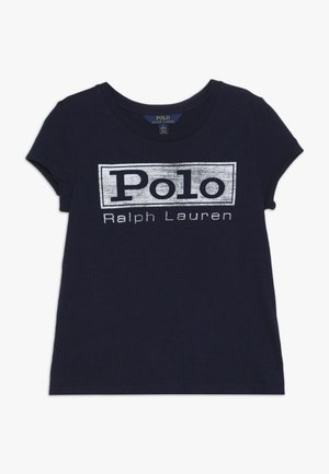 GRAPHIC TEE - T-shirt med print - french navy