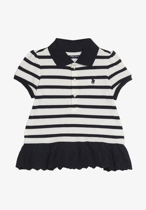 STRIPE  - Polo - hunter navy/nevis
