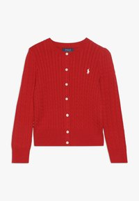 Polo Ralph Lauren - CARDIGAN - Kardigan - red - 0