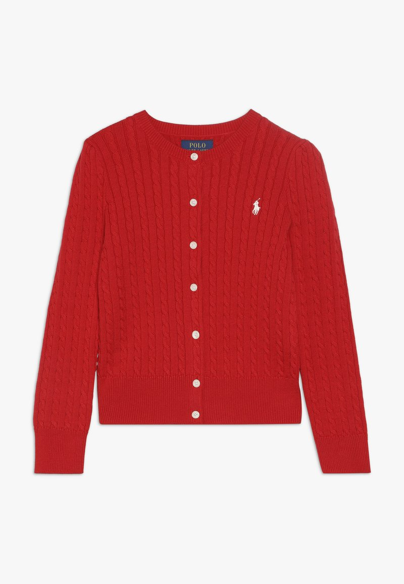 Polo Ralph Lauren - CARDIGAN - Kardigan - red