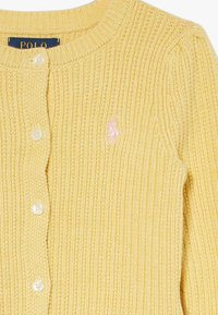 Polo Ralph Lauren - PREPPY CARDI - Cardigan - butter cream heather - 3