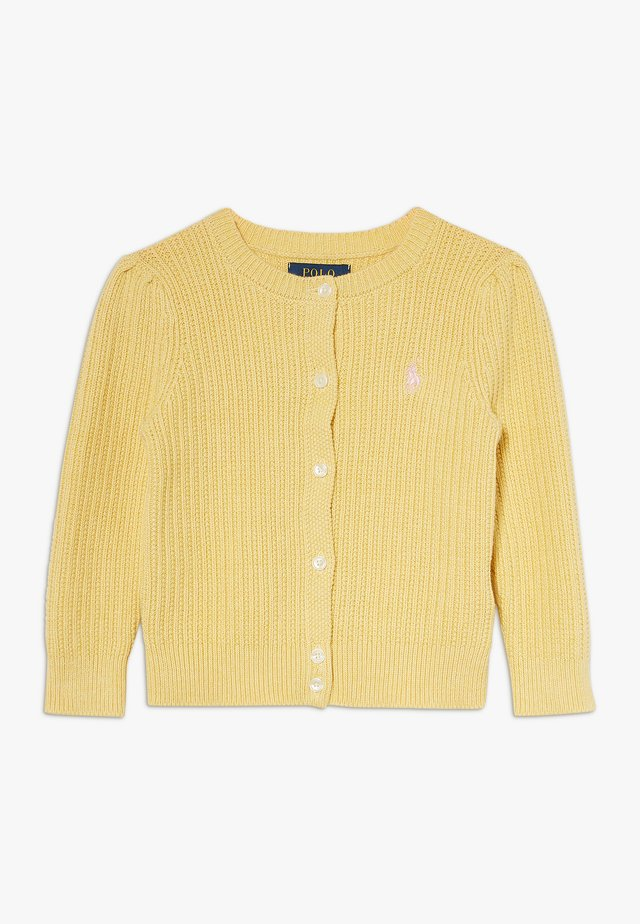 PREPPY CARDI - Neuletakki - butter cream heather