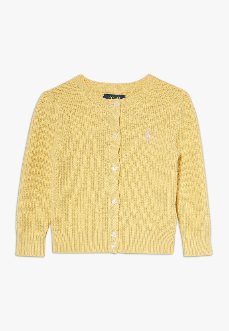 Polo Ralph Lauren - PREPPY CARDI - Cardigan - butter cream heather
