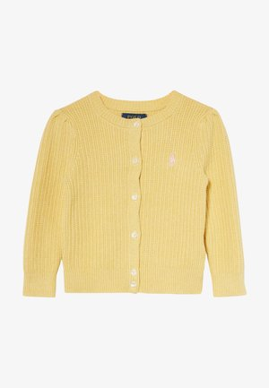PREPPY CARDI - Strickjacke - butter cream heather