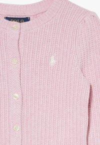 Polo Ralph Lauren - PREPPY CARDI - Cardigan - carmel pink heather - 3