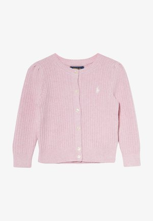 PREPPY CARDI - Cardigan - carmel pink heather