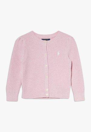 PREPPY CARDI - Kardigan - carmel pink heather