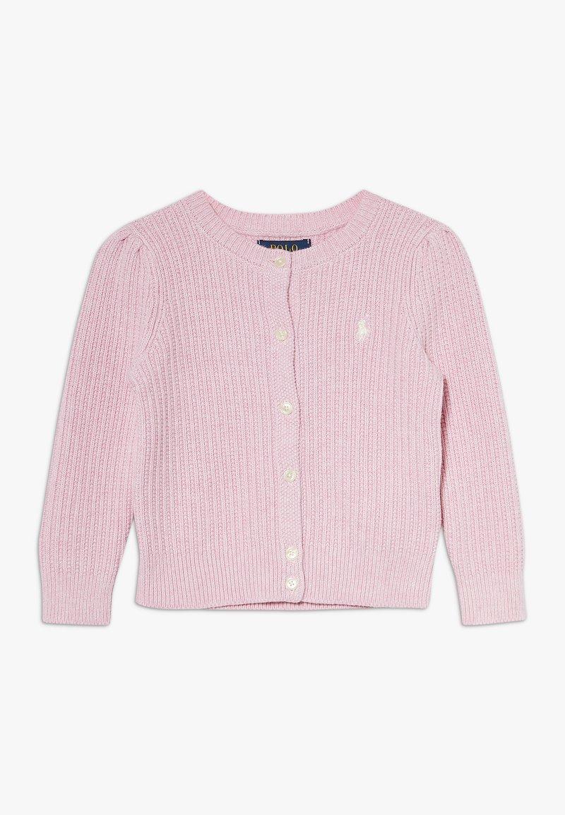Polo Ralph Lauren - PREPPY CARDI - Cardigan - carmel pink heather