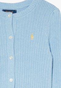 Polo Ralph Lauren - PREPPY CARDI - Kardigan - light blue heather - 3