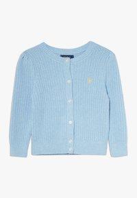 Polo Ralph Lauren - PREPPY CARDI - Kardigan - light blue heather - 0