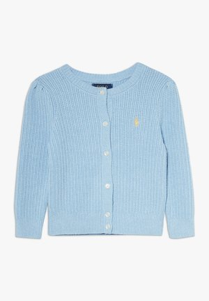 PREPPY CARDI - Kardigan - light blue heather