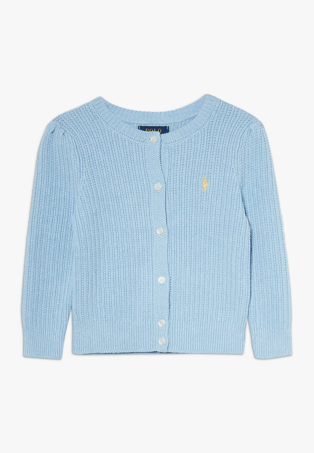 PREPPY CARDI - Neuletakki - light blue heather