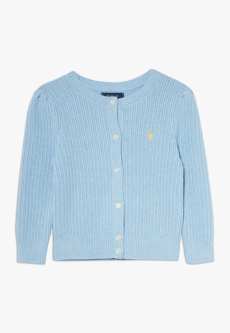 Polo Ralph Lauren - PREPPY CARDI - Kardigan - light blue heather