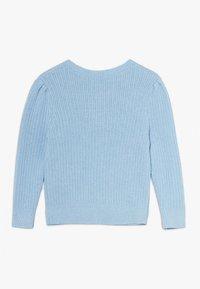 Polo Ralph Lauren - PREPPY CARDI - Kardigan - light blue heather - 1