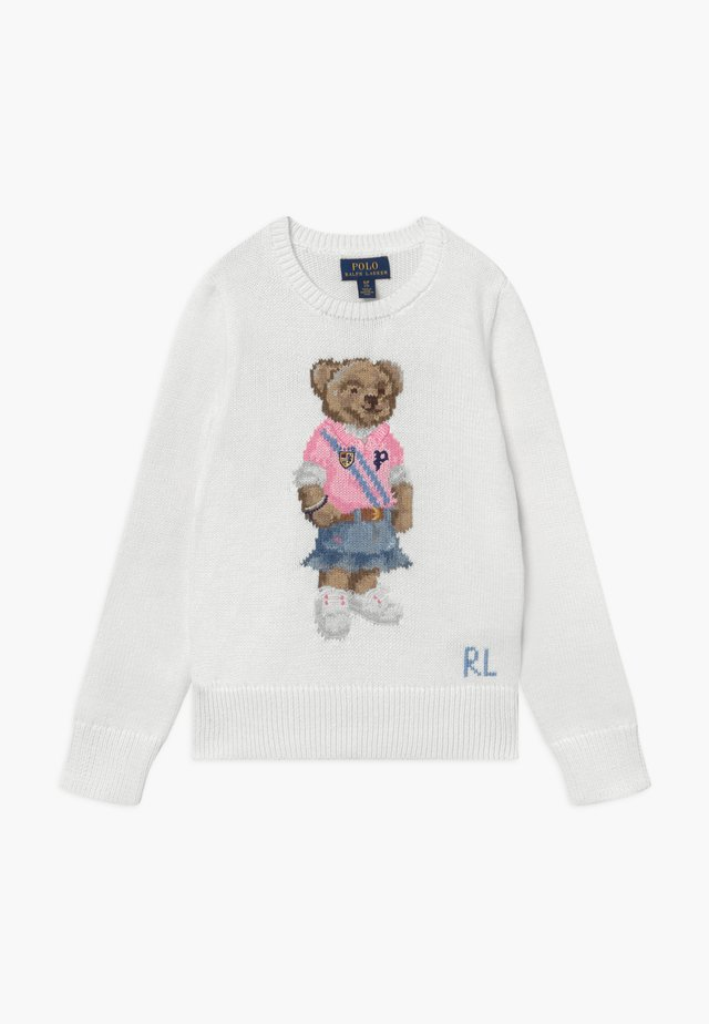 SPRING BEAR - Pullover - trophy cream