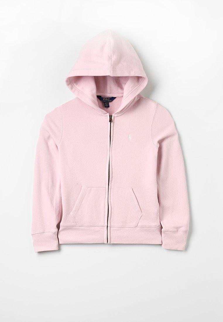 Polo Ralph Lauren - DRAPEY HOODIE - veste en sweat zippée - hint of pink