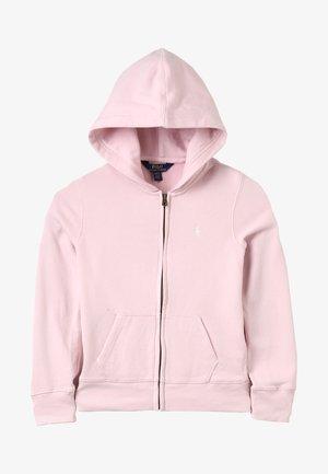 DRAPEY HOODIE - veste en sweat zippée - hint of pink
