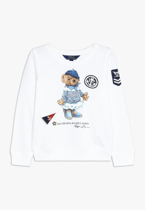 ATLANTIC BEAR - Sweatshirt - white