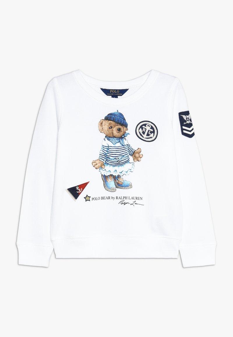 Polo Ralph Lauren - ATLANTIC BEAR - Sweatshirt - white