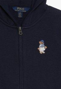 Polo Ralph Lauren - ATLANTIC BEAR HOODIE - veste en sweat zippée - french navy - 4