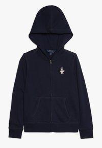 Polo Ralph Lauren - ATLANTIC BEAR HOODIE - veste en sweat zippée - french navy - 0
