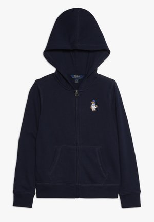 ATLANTIC BEAR HOODIE - Huvtröja med dragkedja - french navy