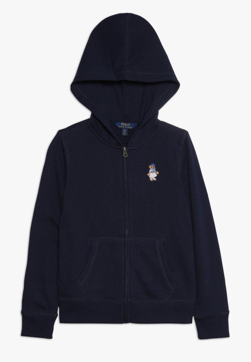 Polo Ralph Lauren - ATLANTIC BEAR HOODIE - veste en sweat zippée - french navy