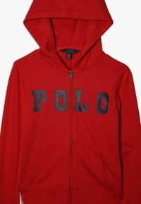 Polo Ralph Lauren - ATLANTIC TERRY ZIP UP - Luvtröja - red - 3