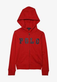 Polo Ralph Lauren - ATLANTIC TERRY ZIP UP - Luvtröja - red - 2
