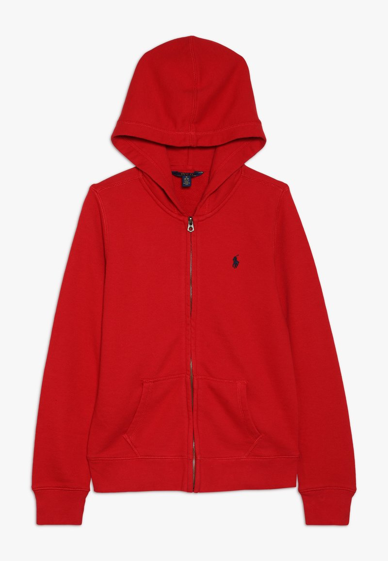 Polo Ralph Lauren - HOODIE - Sweatjacke - red