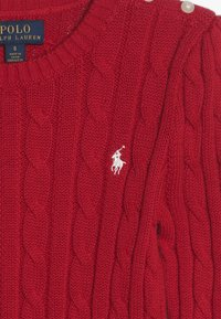 Polo Ralph Lauren - CABLE  - Jumper - red - 3