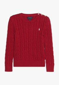 Polo Ralph Lauren - CABLE  - Jumper - red - 0