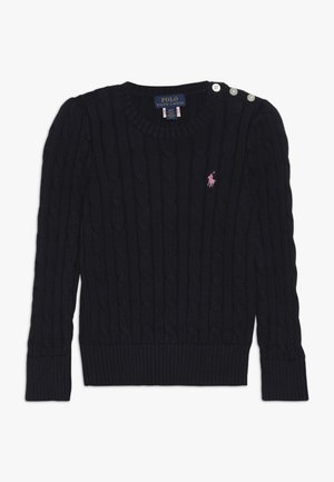 CABLE  - Strickpullover - navy