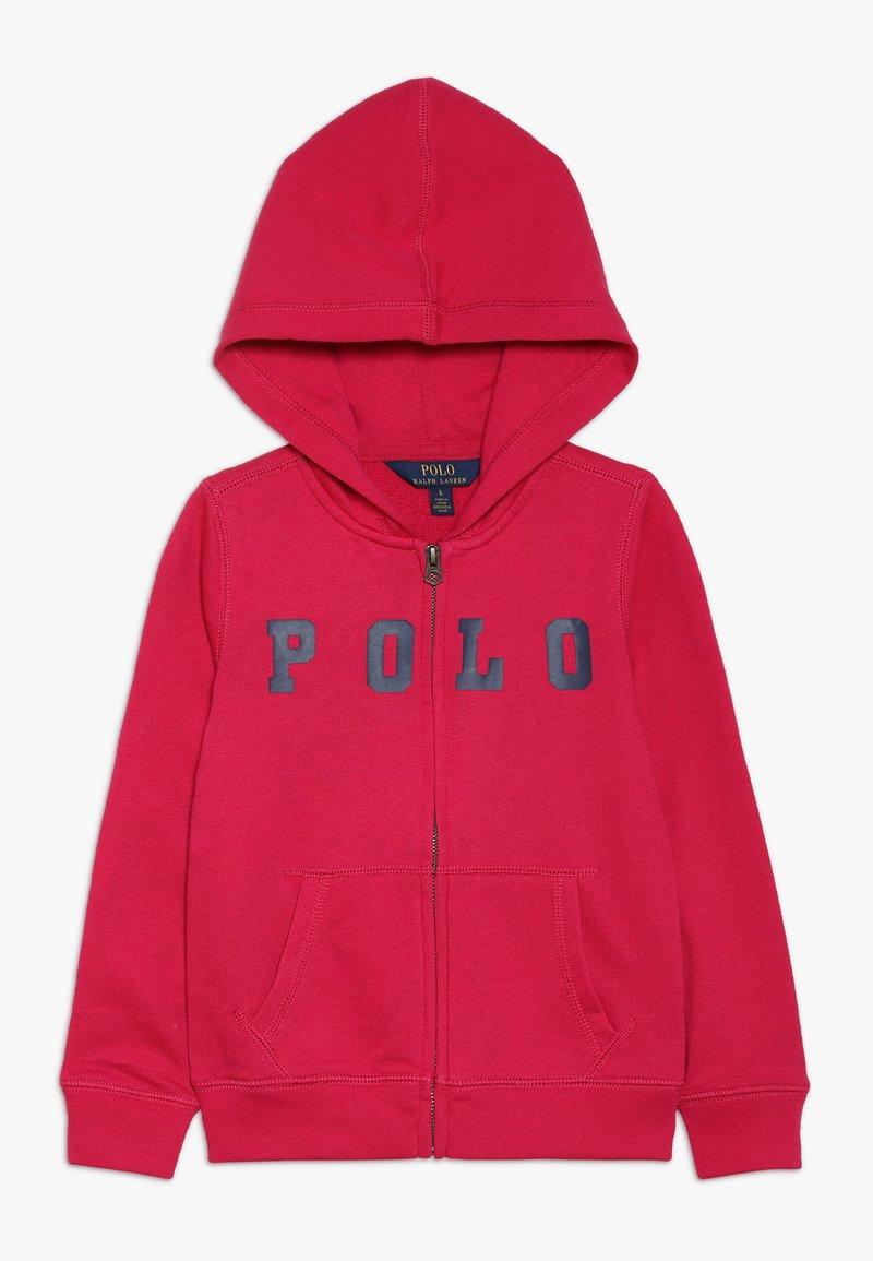Polo Ralph Lauren - ZIP UP - Sudadera con cremallera - sport pink
