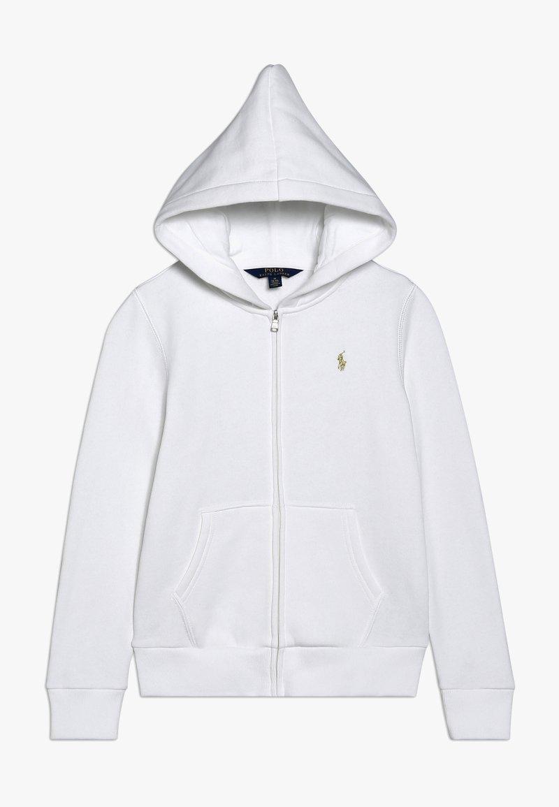Polo Ralph Lauren - HOOD  - Zip-up hoodie - white