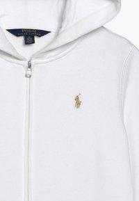 Polo Ralph Lauren - HOOD  - Zip-up hoodie - white - 3