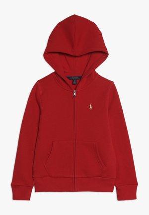 HOOD  - Bluza rozpinana - red
