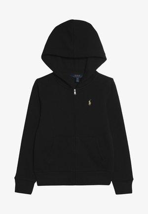 HOOD  - veste en sweat zippée - black