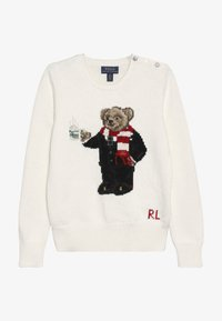Polo Ralph Lauren - HOTCOCO BEAR - Strickpullover - clubhouse cream - 2