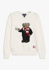 Polo Ralph Lauren - HOTCOCO BEAR - Strickpullover - clubhouse cream - 0
