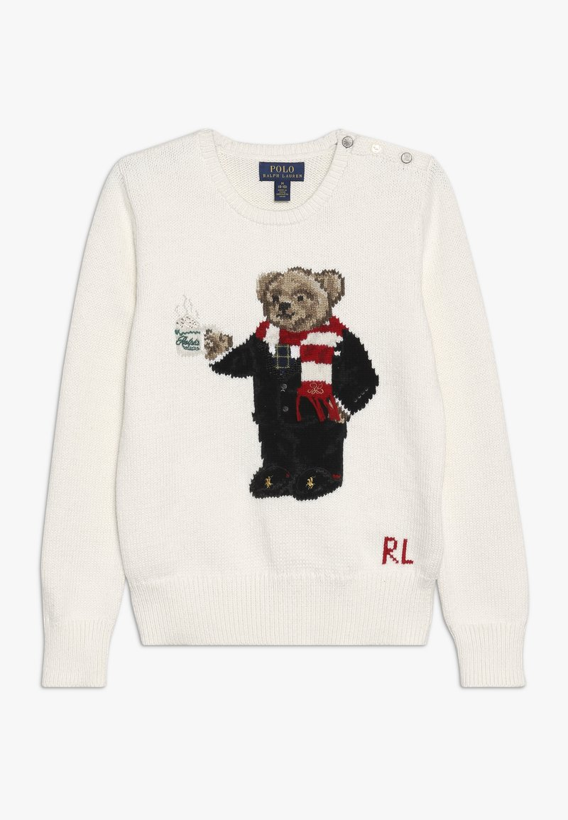 Polo Ralph Lauren - HOTCOCO BEAR - Trui - clubhouse cream