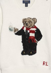 Polo Ralph Lauren - HOTCOCO BEAR - Strickpullover - clubhouse cream - 3