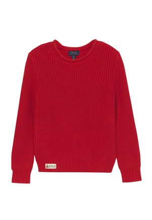 ROLL NECK - Neule - red
