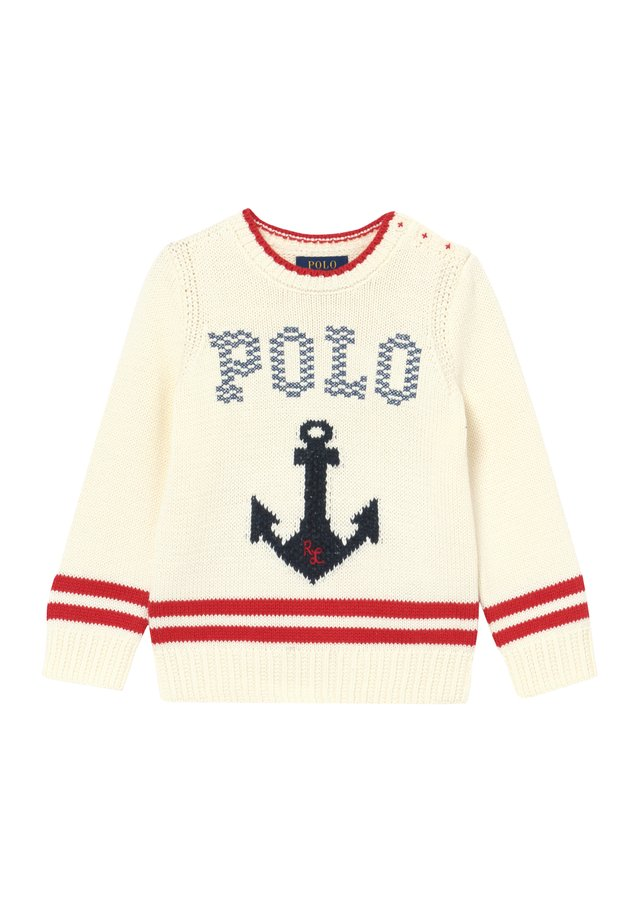 ANCHOR - Strickpullover - clubhouse cream