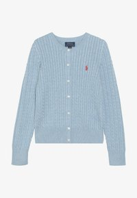 Polo Ralph Lauren - CARDIGAN - Kardigan - modern blue heather - 3